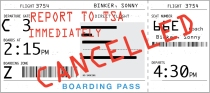 cancelled boarding pass