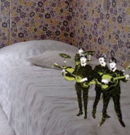 beatles onbed