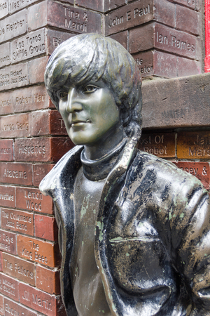 77868733 - john lennon statue in front of the cavern pub, liverpool, uk