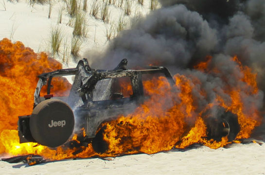 Firey Jeep